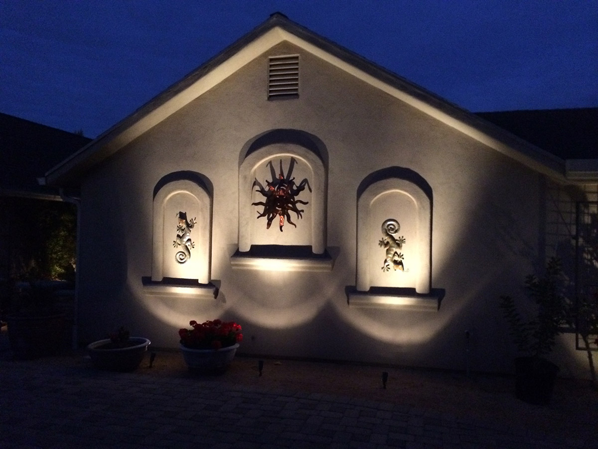 tucson landscape lighting tucson landscaping by terra